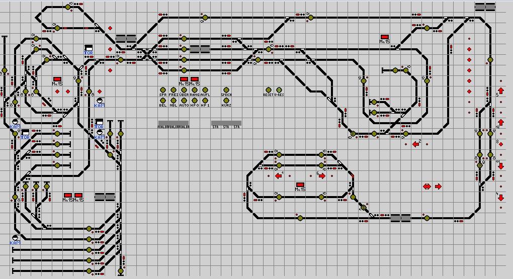 Gleisplan 2016